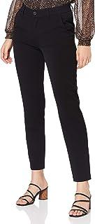 ONLY 女式 ONLEMILY-Velma MW 长裤 TLR, Black, S/32