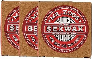 SEXWAX 萨芬 用 快速打蜡 5X 红色 标签 3个装