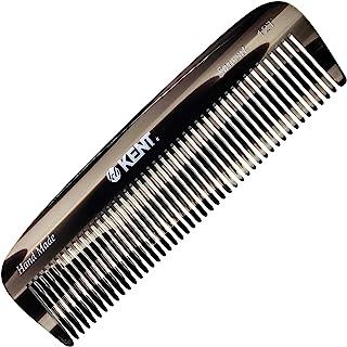 Kent 12T 全粗毛顺发梳宽齿口袋梳,适用于厚卷发波浪发。顺发梳用于梳发、胡须和胡须。锯切手工抛光。英国手工制作