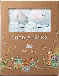 Angel Dear Cuddle Twin Set, Blue Lamb