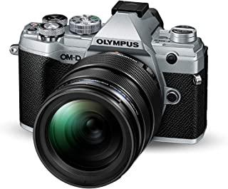 Olympus 奥林巴斯 OM-D E-M5 Mark III Micro 4 Thirds 系统相机套件(2000万像素传感器,5轴图像稳定器,自动对焦,电子OLED取景器,4K视频,WLAN,银色)+ 12-40mm M.*ko PRO 镜头