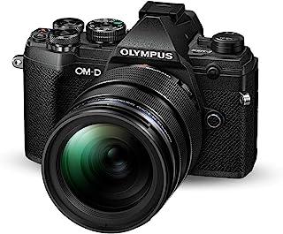 Olympus 奥林巴斯 OM-D E-M5 Mark III Micro 4 *三系统相机套件(20 MP 传感器,5 轴图像稳定器,自动对焦,电子OLED 取景器,4K 视频,WLAN,黑色) + 12-40 毫米 M.*ko PRO 镜头