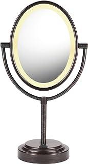 Conair 椭圆形双面照明化妆镜,1x/7x 放大 iphone 配件