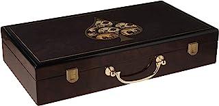 高光泽木制扑克盒