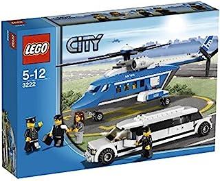 LEGO 城市套装 #3222 直升机豪华轿车