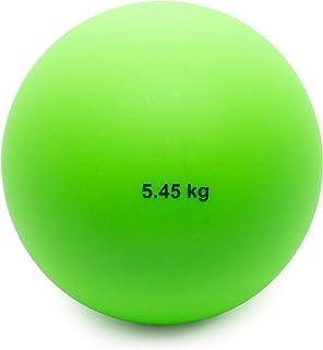 Crown Sporting Goods 5.45 千克(12 磅)室内射球 - 室内田径和田径品质射球适合室内练习和重量训练