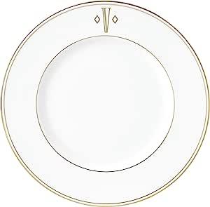 Lenox 联邦金块交织字母餐具 字母 V 870067