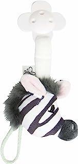 Bebe-jou 308255 奶嘴链 Dinkey 斑马样式 绒面