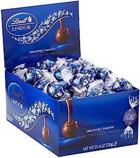 Lindt LINDOR 瑞士莲 黑松露巧克力球,60球装盒