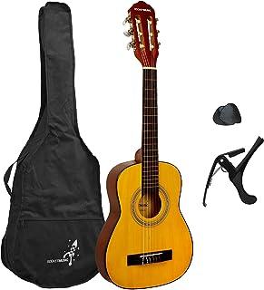 Rocket 1/4 尺寸经典吉他包,适合初学者使用,带尼龙弦、包、卡波和拨片