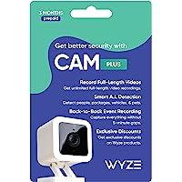 Wyze Cam Plus 3 个月订阅