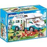 Playmobil 摩比世界 Family Fun 70088 玩具家庭房车,适于4岁以上儿童