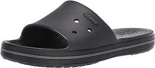 Crocs 卡骆驰中性款成人 Crocband Iii 一脚蹬露趾凉鞋