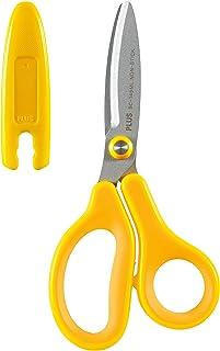 PLUS 日本普乐士 Fitcut Curve 儿童剪刀 左撇子 黄色