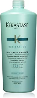 Kerastase 巴黎卡诗 Bain Force Architecte 洗发水 34 Fluid Ounce(1000ml)