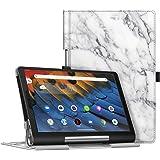 Fintie 保护套适用于联想 Yoga Smart Tab 高级人造皮革超薄保护套对开智能支架保护套带自动休眠/唤醒功…