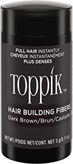 TOPPIK 顶丰发胶纤维 深棕 0.11 oz.