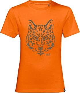 Jack Wolfskin 中性款儿童品牌 T 恤 儿童 T 恤