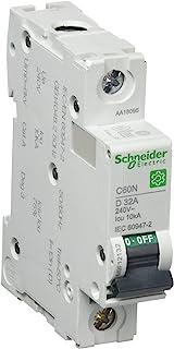 Schneider M9 °F12132 多 9 OEM 断路器开关 1 针 C60 N D 挂耳。 10KA IEC60947-2