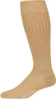 Boardroom Socks 男式美利奴羊毛过膝罗纹礼服袜