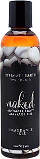 亲密的地球 - 赤裸Aromatherapy按摩油Fragrance-Free - 4盎司