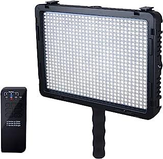 Mcoplus LE-720 4700 LM 3200-5500 K 温度视频 LED 灯 - 黑色