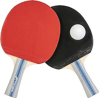 Wdk Partner 乒乓球拍 WX004 红色和黑色