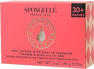Spongellé Pedi-Buffer - 清洁、去角质和抛光脚 - 木瓜柚子
