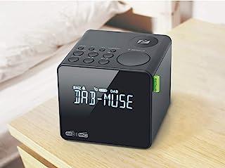 MUSE - M-187 CDB DAB+/FM PLL 时钟收音机,带双闹钟