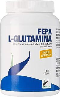 FEPA L-GLUTAMINA 口味 橙子味 500g 黑色 标准
