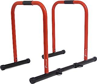 ProSource Dip 站,重型终极身体压条,适用于三头肌,上拉,上拉,L 码
