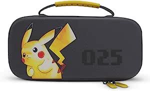 PowerA 保护套,适用于 Nintendo Switch 或 Nintendo Switch Lite - 皮卡丘025,保护套,游戏保护套,控制台保护套,皮卡丘 - Nintendo Switch