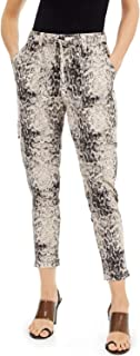 INC International Concepts 女式地球蛇印花拉链慢跑裤裤蛇 XL 码