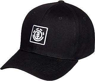 Element 男士 ElementTreelogo - Casquette Trucker Homme U Noir 棒球帽,不透明,Flint 黑色
