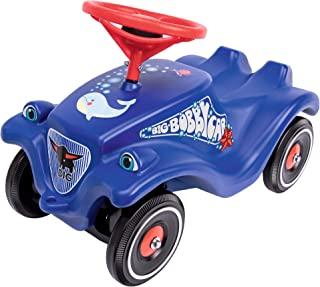 BIG-Bobby-Car Classic Ocean 儿童车 带海洋设计贴纸 适合男孩和女孩 承重达 50 千克 适合 1 岁以上儿童 蓝色