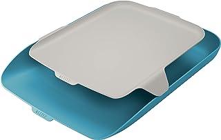 Leitz 利市 信纸托盘 + 收纳包 舒适蓝色