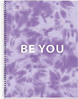 Miquelrius *毒笔记本 – 硬质封面*超硬纸板 A4 4 色条纹 120 张 90 克 4 个钻头 扎染薰衣草