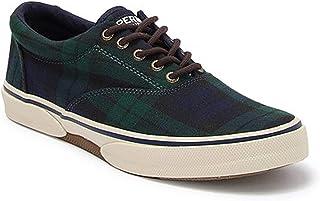 sperry top-sider 男式 halyard 休闲系带鞋子