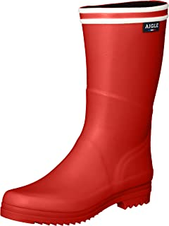 RUBBERBOOTS 【SIGNATURE】 军靴 条纹 橡胶靴 女士