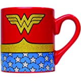 Silver Buffalo WW0132G DC Comics Wonder Woman Uniform Glitte…