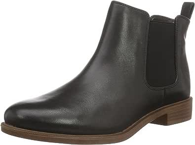 Clarks 女式 Taylor Shine Chelsea靴子