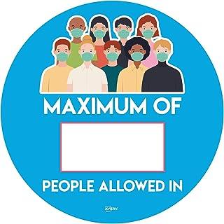 Avery Maximum People 圆形标牌,圆形贴纸 Ø275 毫米,每包 2 张海报