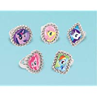 My Little Pony Jewel Rings Party Supplies, 18 Pieces, Made f…