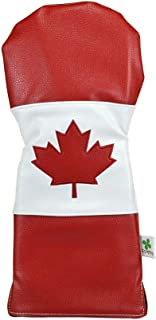 Foretra - 限量版加拿大国旗司机头套 - 巡回赛品质高尔夫球杆套 - 风格和定制您的高尔夫包