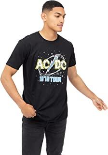 AC/DC 男式 Live T 恤