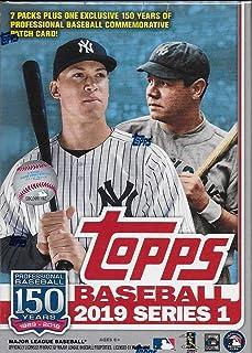 Topps 2019 棒球系列 1 集换卡复古价值盒(零售版)
