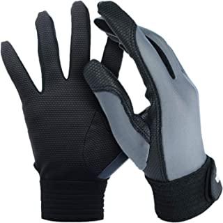 X-COM Discs Ultimate 飞盘手套 - 终极飞盘播放器的完美手套,持续抓握和摩擦。改善投掷和捕捉。全天候条件下。