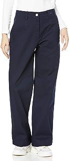 LACOSTE 裤子 高腰阔腿裤 女士 HF0314L
