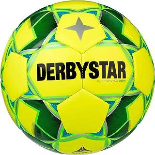 Derbystar 中性青少年软专业轻量足球训练球,黄色,4
