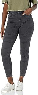 UNIONBAY 女士曲线修身弹力迷彩斜纹紧身裤